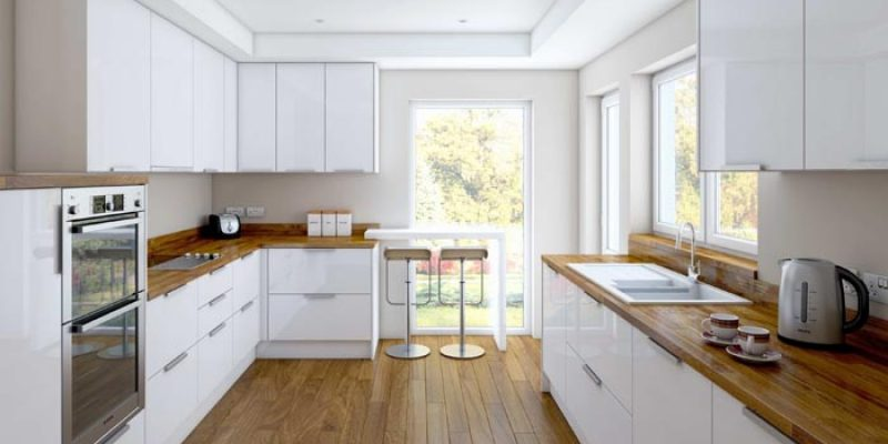White Oak Kitchen Cabinets